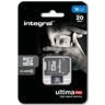 Karta Pamięci Micro SDHC 16GB Integral + Adapter SD Class 10 U1