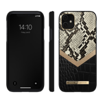 ETUI iDeal of Sweden Atelier iPhone 11 XR etui ochronne Midnight Python