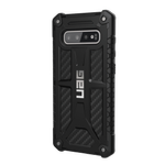 Etui UAG Monarch Samsung Galaxy S10 Plus carbon fiber Case
