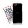 Etui iPhone 6 SEVENMILLI Real Metal ALU Black / Red