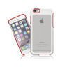 Etui iPhone 6 SEVENMILLI Real Metal Hexa White/Red