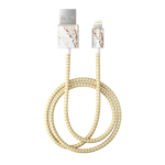 Kabel iDeal Of Sweden lightning 1 m Carrara Gold