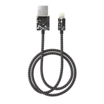 Kabel lightning iDeal Of Sweden 1m Midnight Terazzo