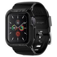 "Pasek SPIGEN Rugged Armor ""pro"" Apple Watch 4/5 (40 Mm) Black Czarny"
