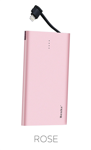 Powerbank Benks Rapid - Lightning 4000mAh - Rose