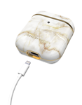 iDeal of Sweden - etui ochronne do Airpods 1/2 (Golden Pearl Marble)