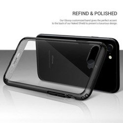 Obliq Naked Shield - Etui iPhone 8 / 7 (Smoky Black)