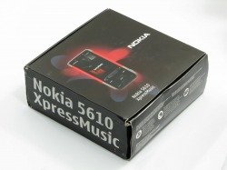 Pudełko Nokia 5610 XpressMusic CD Kabel