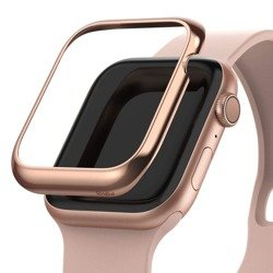 Ramka RINGKE Bezel Styling Apple Watch 1 2 3 (42 Mm) Glossy Pink Gold Różowa