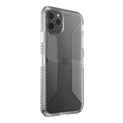 Speck Presidio Perfect-Clear with Grips - Etui iPhone 11 Pro Max z powłoką MICROBAN (Clear)