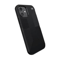 Speck Presidio2 Grip - Etui iPhone 12 12 Pro z powłoką MICROBAN (Black)